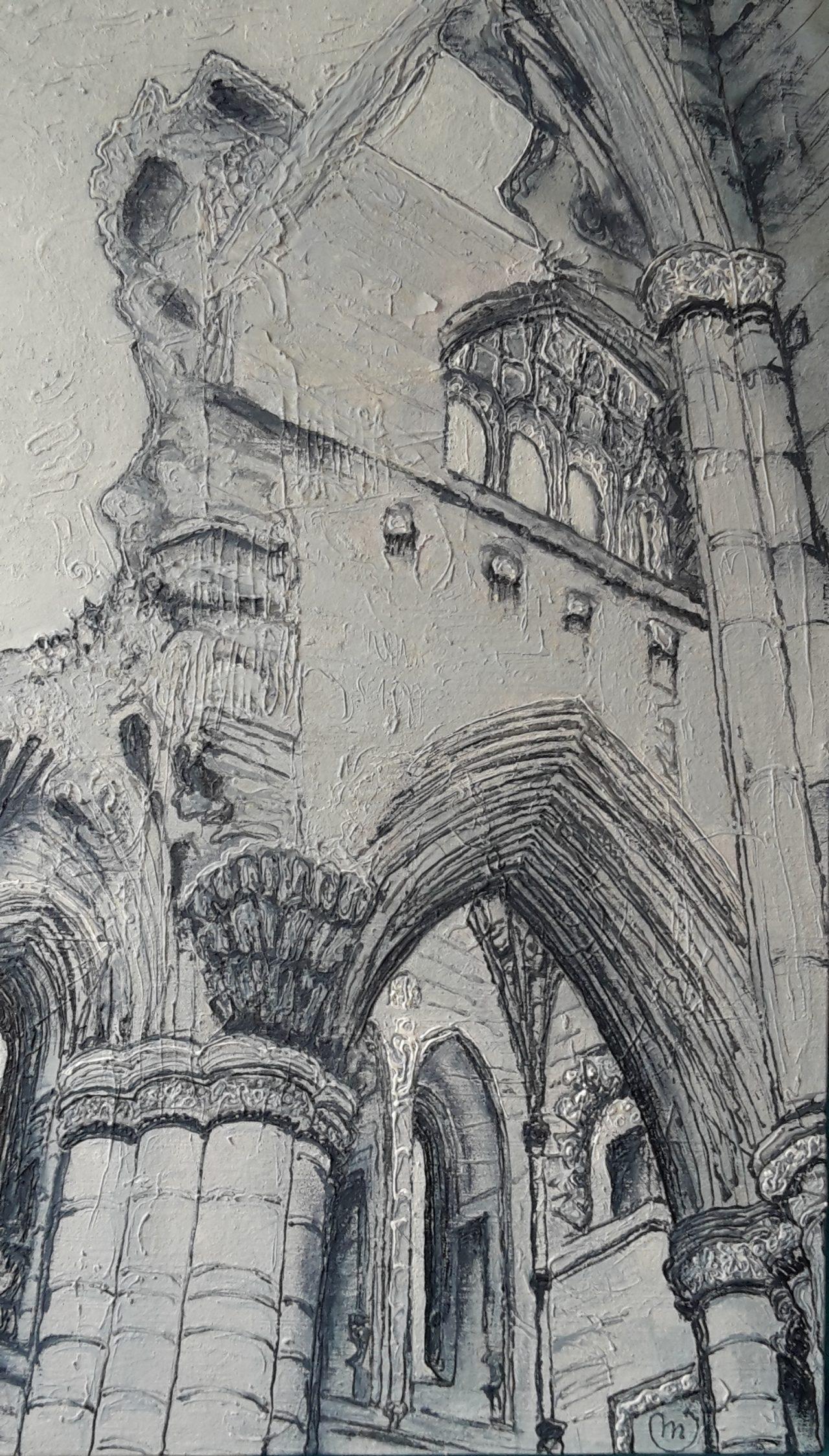 2017 Melrose Abbey Scotland - Mirjam van de Kerkhof