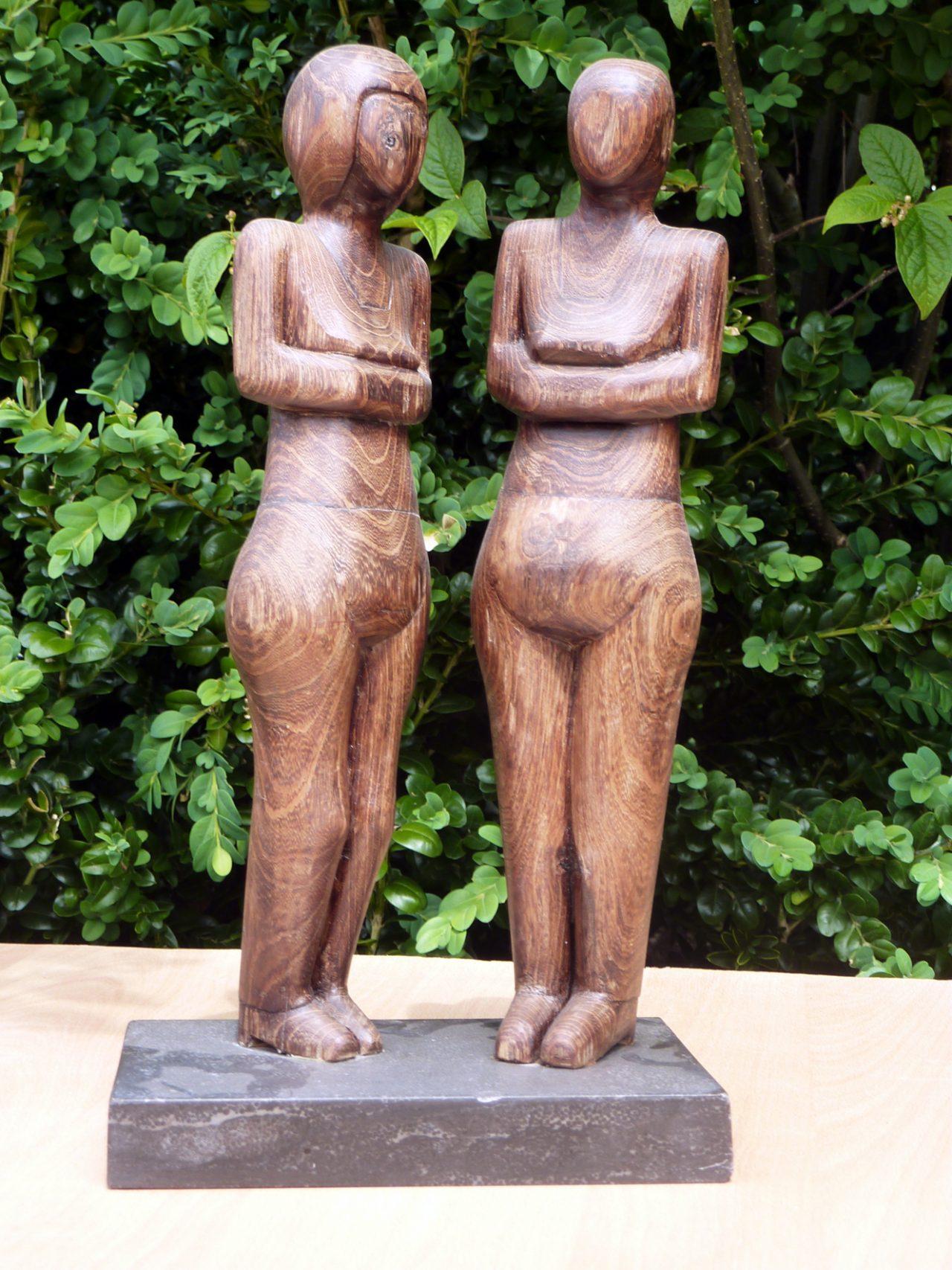 twee zusjes, goudenregenhout