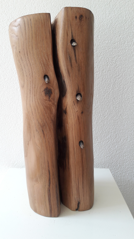 inner grief, eeuwen oud kastanje hout