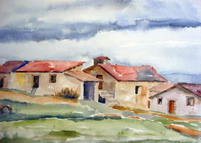 Jaap van der Meer, Memory, aquarel
