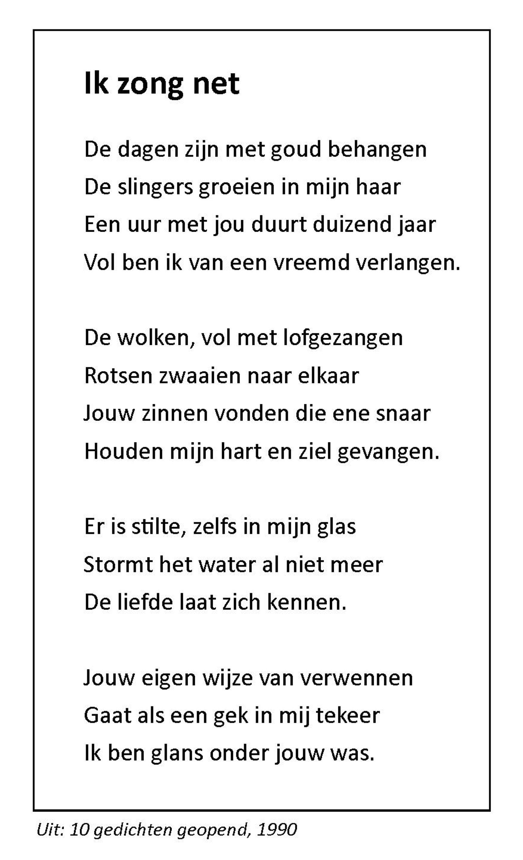 Cees Oosterwijk, Ik zong net